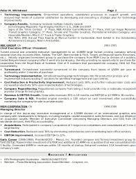 Breakupus Remarkable Resume Sample Senior Executive Resume Careerresumes With Goodlooking Resume Sample Senior Executive Page With Break Up