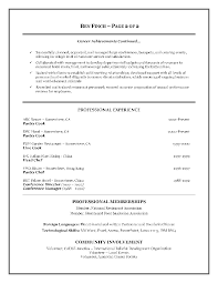 Fast Food Resume Samples by Food Service Manager Cover Letter