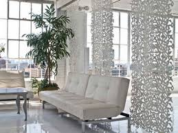 Room Divider Diy by Leather Diy Sotto Retro Chic Hanging Room Divider With White Sofa
