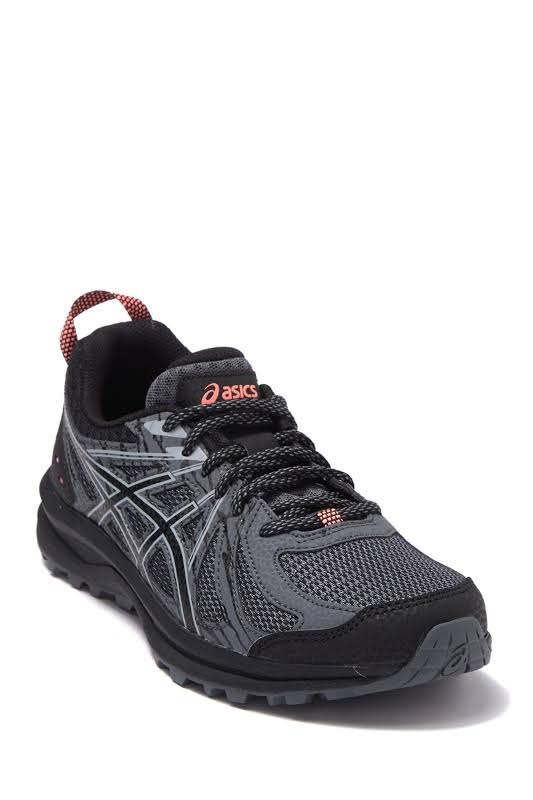 ASICS Frequent Trail Running Shoes Black- Womens