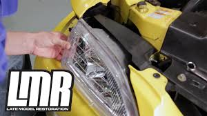 Cobra Head Light Fixtures by Mustang Headlight Install Removal Cobra Style 94 98 Sn95