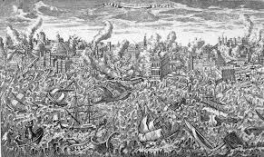 Séisme du 1er novembre 1755 à Lisbonne
