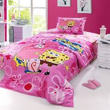 Full Size Bed In A Bag For Girls by Spongebob Twin Full Bedding
