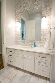 Backsplash Bathroom Ideas Colors Cloud8 Fantastic Bathroom Remodel With Extra Wide Single White