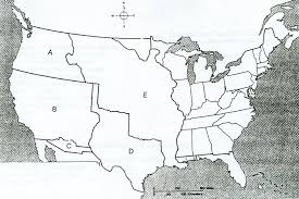 Blank Map Of The United States Of America by Us History Practice Test