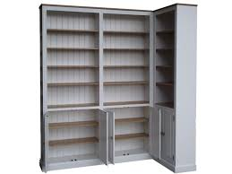 tall white bookcase with doors solid wood loversiq