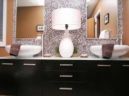 double sink bathroom vanities two mirror panels mounted lamps