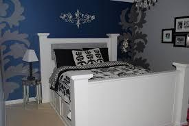 Navy Blue Wall Bedroom Dark Blue Master Bedroom Bedrooms Light Walls White And Ideas The