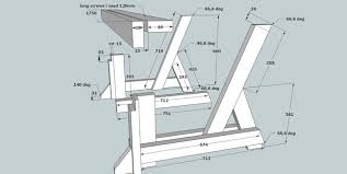 Plans To Build A Picnic Table Bench by Picnic Table And Bench 2 In 1 7 Steps With Pictures