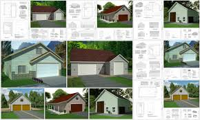 instant garage plans with apartments