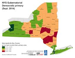 New York State Map by Nyc Election Atlas Maps