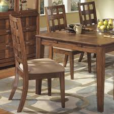 Rustic Home Interior Furniture Cozy Dining Room With Brown Rustic Walnut Wood Dining