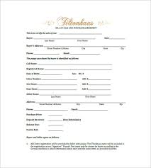 dog bill of sale u2013 8 free sample example format download
