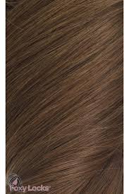 Grey Human Hair Extensions by Chestnut Brown 6 Luxurious 24