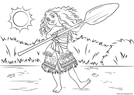 disney moana coloring pages coloring pages