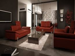 red leather sofa living room ideas google search joel u0027s apt