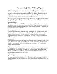warehouse worker resume objective how to prepare a resume for job interview resume for your job
