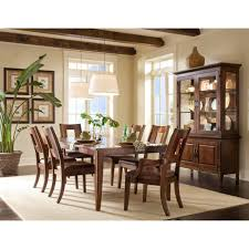 Klaussner International Klaussner Carturra 7 Piece Dining Set Hayneedle