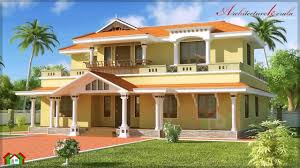 Big House Plans by Kerala Style House Plans 2500 Square Feet Youtube
