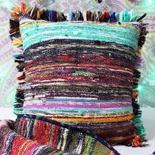 rug throw pillows vintage boho u0026 unique kilim woven cushion covers