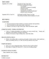 Work Experience Essay   Ekorus Unzip A Resume Writing A Work Experience Good Internship Resume