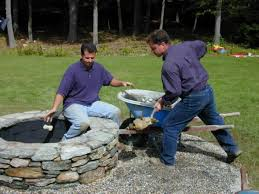 How To Build A Small Shed Step By Step by How To Build A Stone Fire Pit How Tos Diy