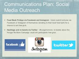 Plan Social Media by The Hunger No More Initiative Ppt Download