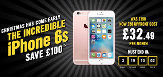 iphone 6s black friday sale carphone warehouse slashes 100 off iphone 6s 6 5s