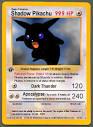 shadow pokemon cards