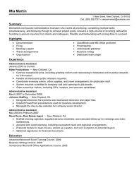 professional administrative assistant resume sample resume         Alib