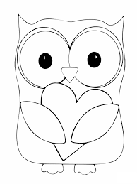 coloring page of an owl 13362