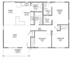 One Level House Plans With Basement Modest Small One Story 3 Bedroom House Plans By 3 1892x2074