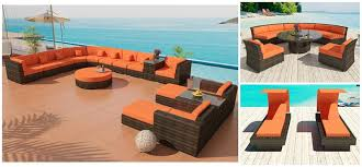 Wicker Outdoor Furniture Sets by Bellagio Sectional Sofa 24 Cassandra Dining