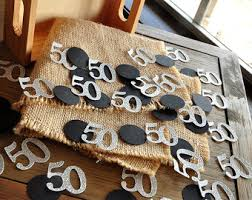 50th birthday centerpiece handcrafted in 3 5 business days