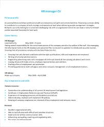 Senior Hr Manager Resume Sample by 54 Manager Resumes In Pdf Free U0026 Premium Templates
