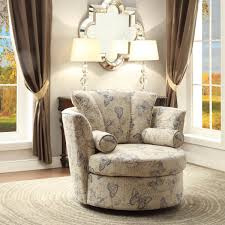 Upholstered Swivel Chairs Knowing Every Part Of Swivel Chairs For Living Room
