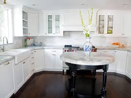 Ivory White Kitchen Cabinets by Staining Kitchen Cabinets Pictures Ideas U0026 Tips From Hgtv Hgtv