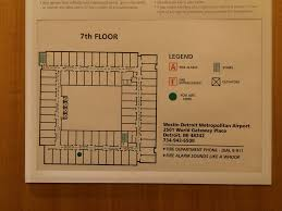 Map Of Detroit Metro Airport by Trip Report Westin Hotel Dtw U2013 Sanspotter