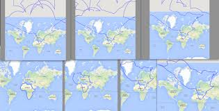 Peters Projection World Map by Greenland U0027s Size In Mercator Projection Vs Actual Size 489x290