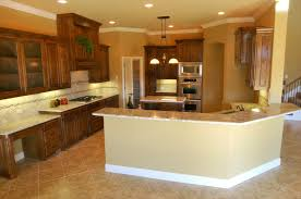 Stove In Kitchen Island Kitchen Endearing High End Red Kitchen Cabinet Design Featuring