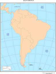 Map Of South America And Caribbean by Maps Of The Americas