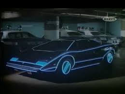 Automan Car Lamborghini Countach LP400