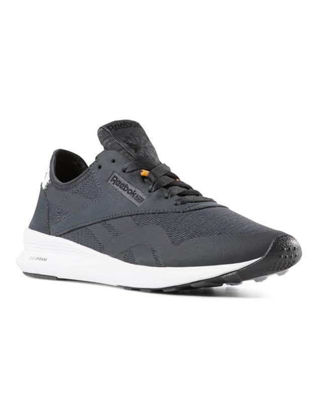 Reebok Cl Nylon Gray Fashion Sneaker