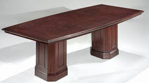 8 Foot Desk by 8 Foot Boat Shaped Conference Tables