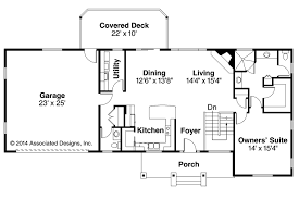 one story rustic house plan design alpine lodge great room vaulted