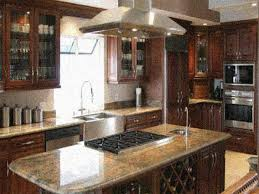 Long Kitchen Island Designs by Kitchen Amazing Country Kitchen Designs In Brown Varnish