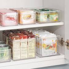 amazon com interdesign refrigerator freezer and pantry storage