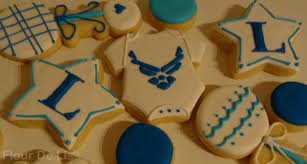 flour de lis welcome home cookies