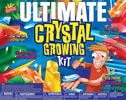 amazon com scientific explorer ultimate crystal growing kit toys