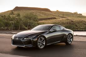 lexus concept cars first drive the 2018 lexus lc 500 doesn u0027t want to be the perfect one